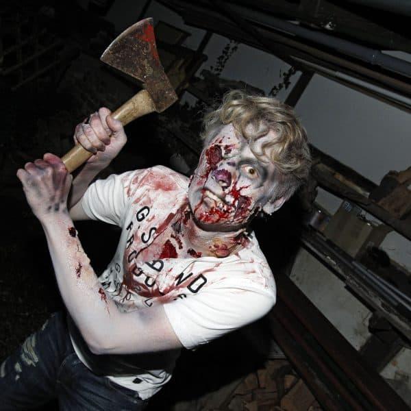 Zombie Photoshooting. Hameln-Holtensen, 17.11.2014